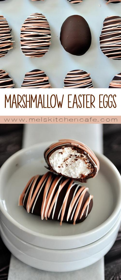 These homemade marshmallow Easter eggs may just be one of the coolest things ever! Your kids will love them!