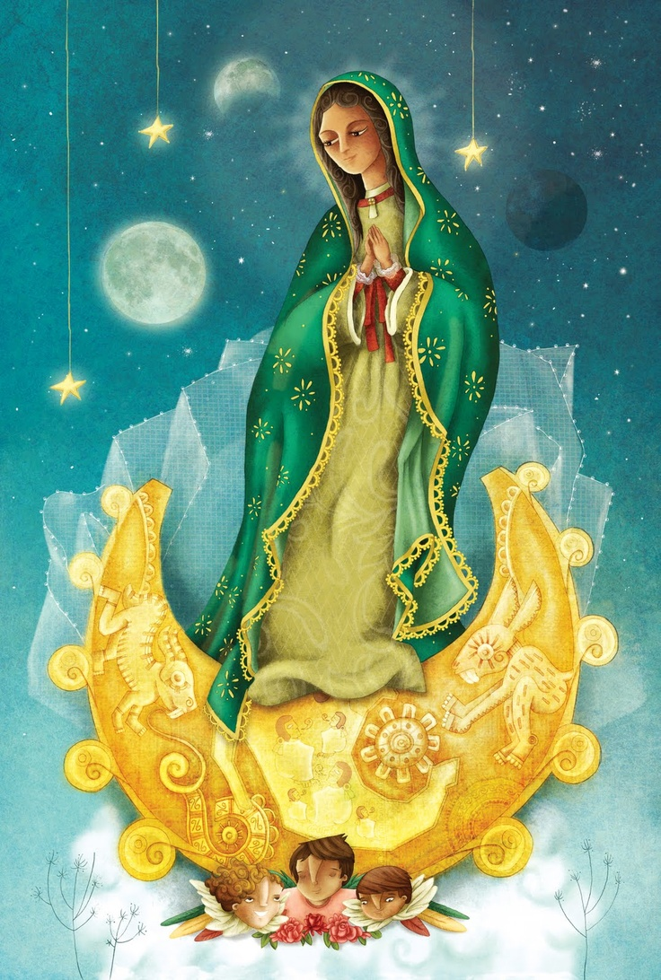 Virgen de Guadalupe: Sacred Art, Virgin Of Guadalupe, Virgen Guadalupe, Blessed Mary, Virgen Maria, Ol Guadalupe, My Culture, La Virgencita, Guadalupe Virgen