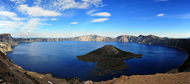 Crater Lake. You truly know nothing of color blue until you experience it here. Photography by underdog9, via Flickr
