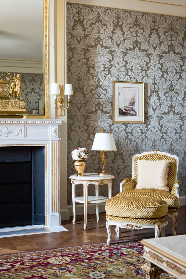 Ritz, Paris-The living room of the F. Scott Fitzgerald Suite. Andreas Meichsner for The New York Times