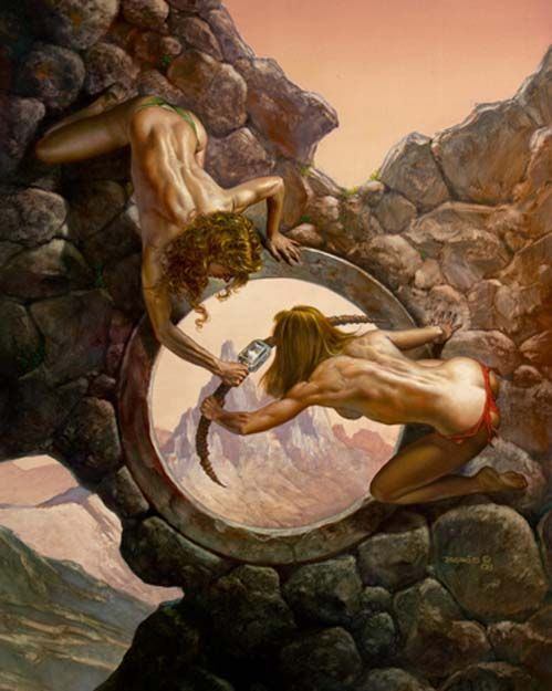 Power Struggle  Julie Bell & Boris Vallejo