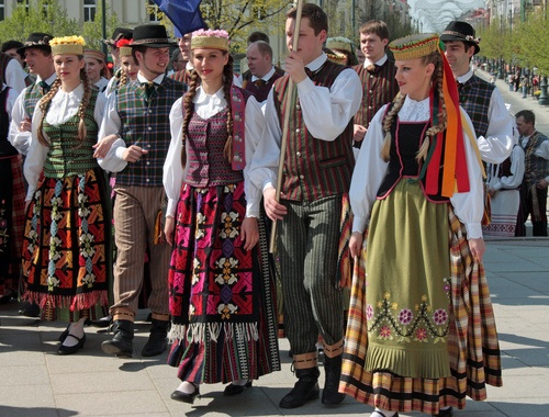 Lithuanian boys and girls