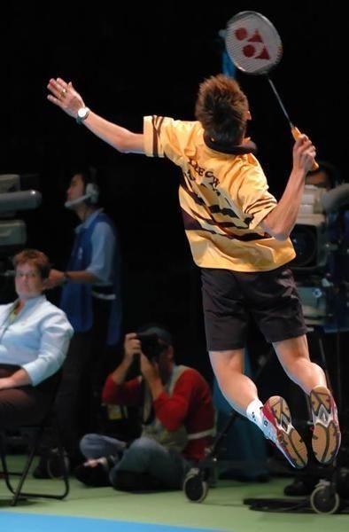 Lee Chong Wei jump smash! #badminton #BadmintonSmash #badmintonfan
