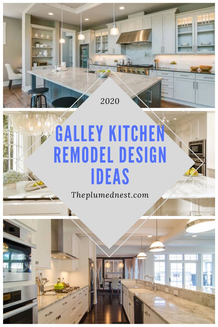 20+ Amazing Galley Kitchen Remodel Ideas 2020 ( Tips ...