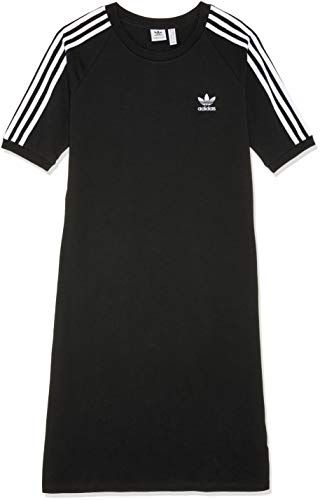 on sale 8606f 7ec6b adidas 3Stripes - Vestito Donna Nero 46 IT (40 EU)