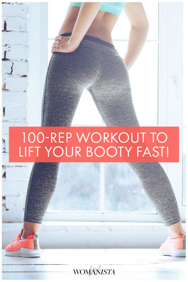 You're 100 reps away from feeling the best hurt-so-good, can-barely-sit-on-the-toilet lower body soreness. Try this circuit for a serious lower body workout! Womanista.com