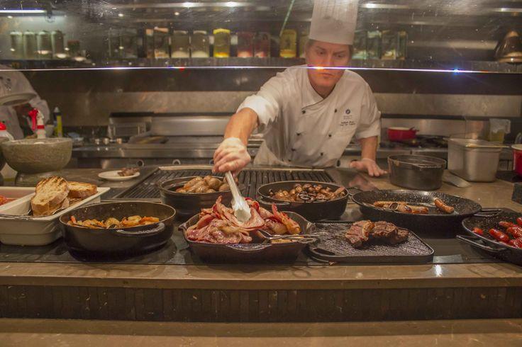 Head chef adrian ross bakery