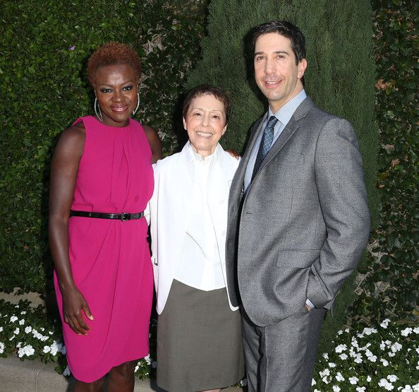 Julius Tennon (L) and actress Viola Davis attend the Rape Treatment Center Fundraiser Honoring Norman Lear on October 14, 2012 in Beverly Hills, California. - Rape Treatment Center Fundraiser Honoring Norman Lear - Arrivals