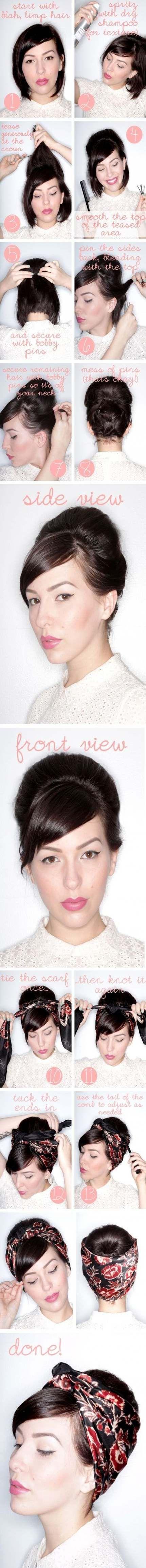 Best Hairstyles Short Bob Hair Tutorials Ideas