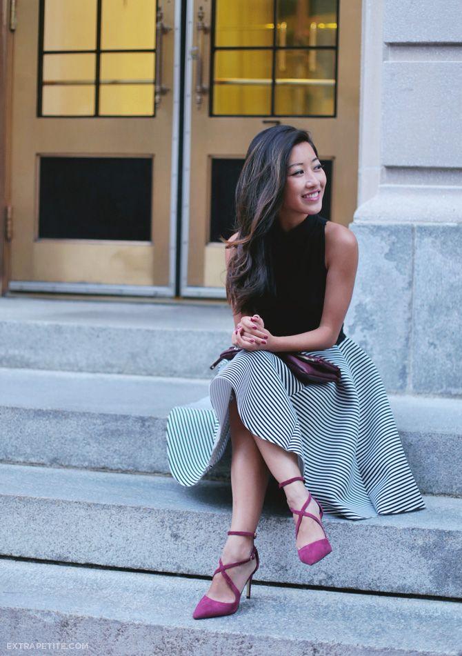 Extra Petite -  - Petite Fashion & Style Blogger/Petite Lookbook. Re-pin via petitestyleonline.com