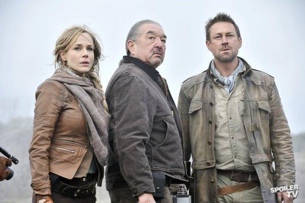 Defiance - Episode 1.01 - Pilot - Promotional Photos from SpoilerTV - Amanda Rosewater, Rafe McCawley & Jeb Nolan