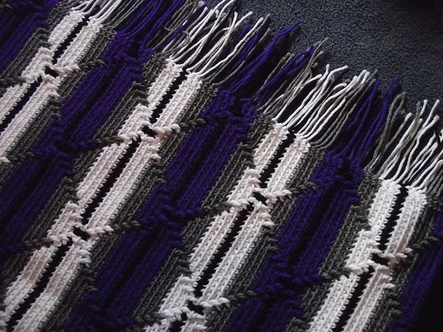 Ravelry: Navajo Indian Diamond Pattern Afghan pattern by ...