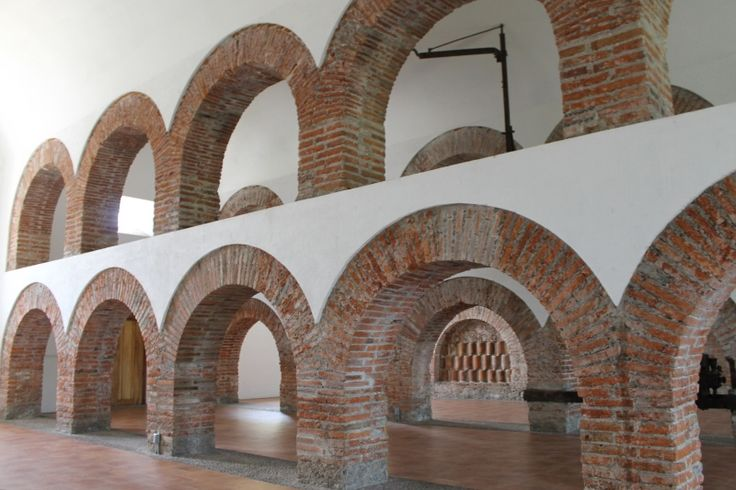 Former sugar cane mill at the Hacienda de Nogueras. Colima, Mexico./ Antigua planta azucarera en la la Hacienda de Nogueras. Colima, Mexico. #travel #colima #mexico #arquitecture #bricks #texture #whitewalls