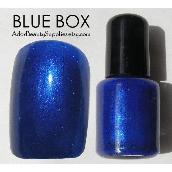 Blue Nail Polish One Finger: 19 Best Tardis Art Images On Pinterest