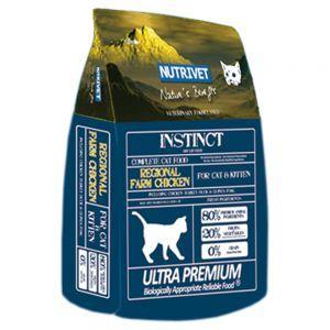 Pienso para gatos Nutrivet Instinct Regional Farm Chicken