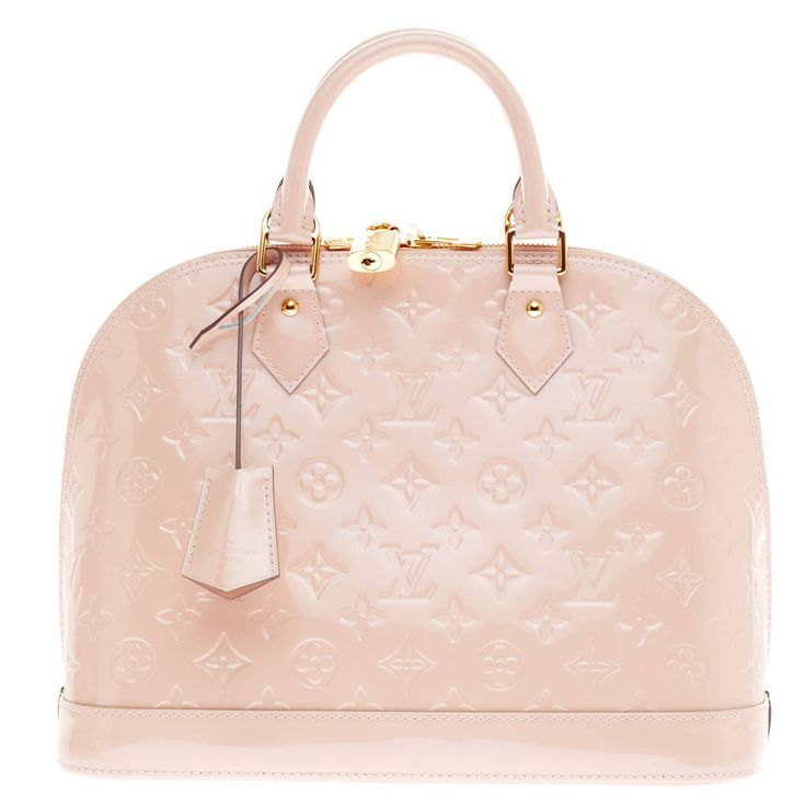 Louis Vuitton Alma Monogram Vernis PM | See more vintage Top Handle Bags at http://www.1stdibs.com/fashion/handbags-purses-bags/top-handle-bags in 1stdibs