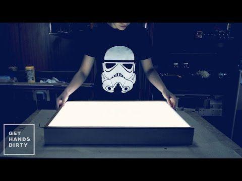 Make an LED Light Box - YouTube