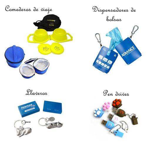Especialistas en regalos relacionados con este sector veterinario (accesorios para la consulta, la clínica, los dueños de las mascotas, usuarios finales, ferias y concursos)