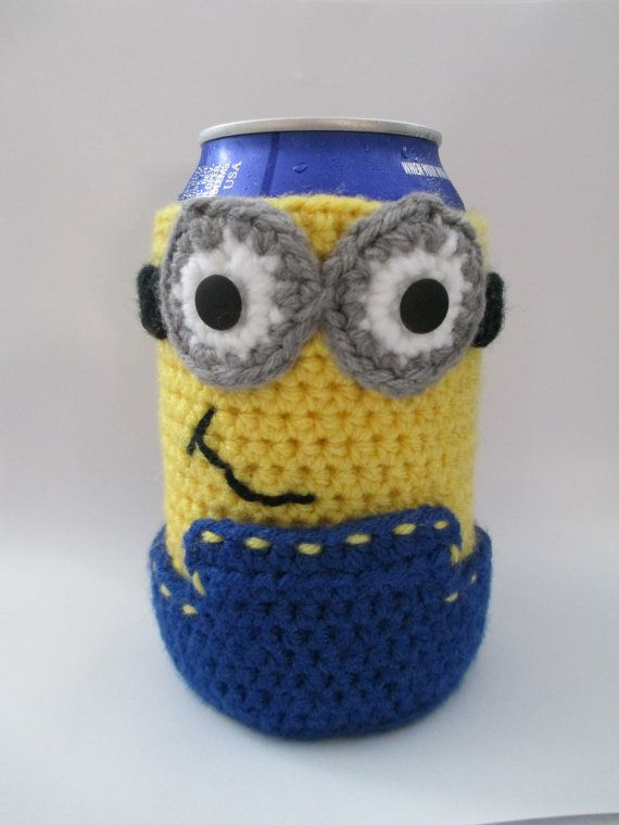 63 Best Crochet Cozies Images On Pinterest Coffee Cup Cozy Bottle