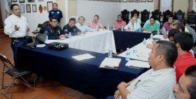 Presenta Protección Civil Plan de Contingencias a agentes municipales