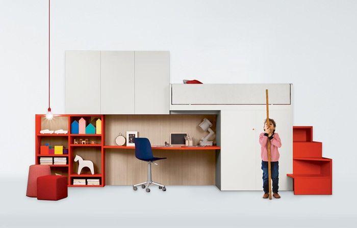 Nidi, amazing children's designer furniture by Battistella - Petit & Small
