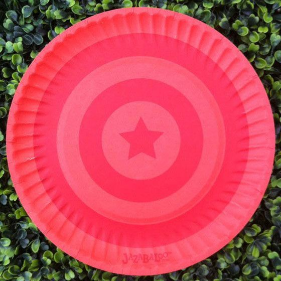 Bright Colourful Designer Party Plates to suit all themes. For the fashion-savvy party stylist, this boutique range of paper plates and cups has the ideal mix o