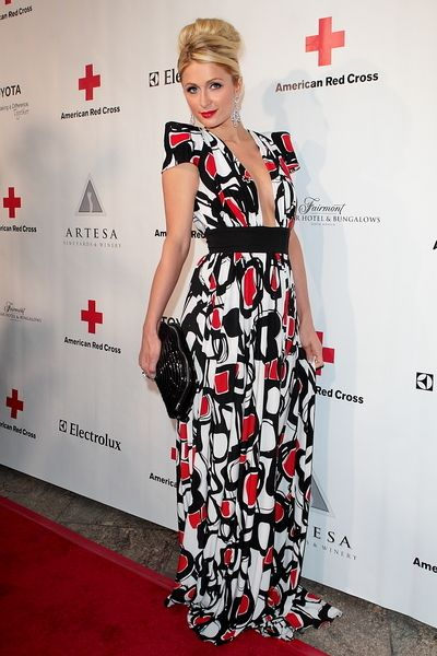 Josh Duhamel and Fergie: Red Cross Red Tie Affair