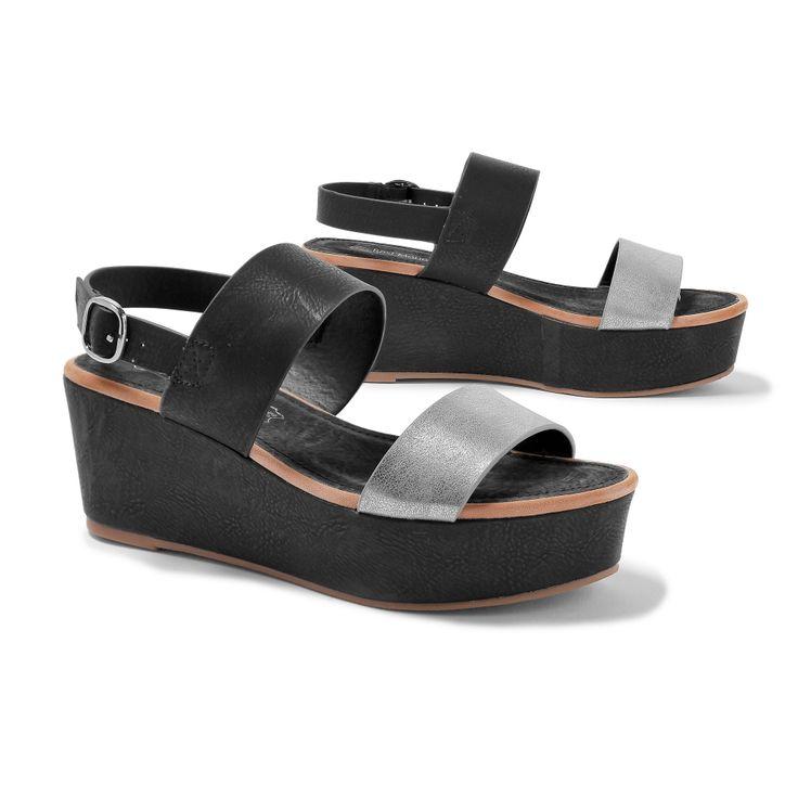 Sandales plateforme, prenez de la hauteur en beauté ! #sandales #shoes…