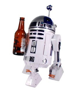Complete with movie-accurate messages and flashing lights, this droid responds to voice commands and has a special arm designed to keep your beverage handy. This friendly robot is designed to be a fun companion for kids aged eight and up.  http://www.unitedyam.com/golb/star-wars-gift-ideas/