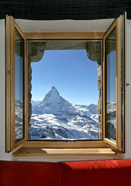 KULMHOTEL GORNERGRAT- highest hotel in the Swiss Alps. #baselshows