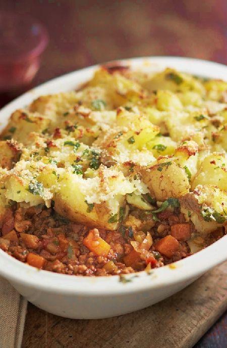 Low FODMAP Recipe and Gluten Free Recipe - Italian cottage pie