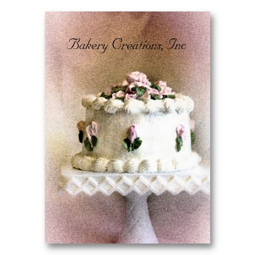 19 best cake decorating business cards images on pinterest cake cake art iv business card colourmoves