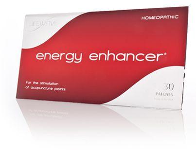Energy Enhancer- drug-free energy!  www.lifewave.com/drjbrown