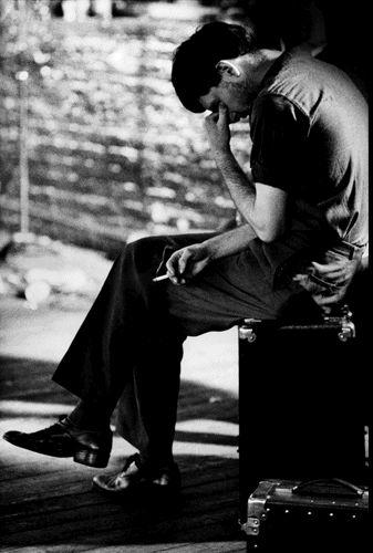 Ian Curtis by Anton Corbijn