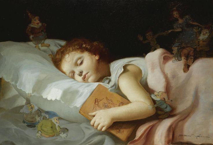 Maria Szantho 1898-1984 sweet dreams of snow white: