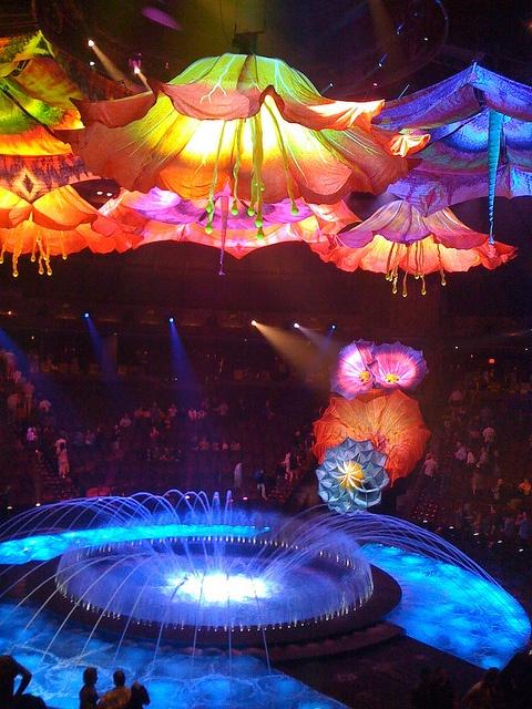 Le Reve Show in Wynn Vegas