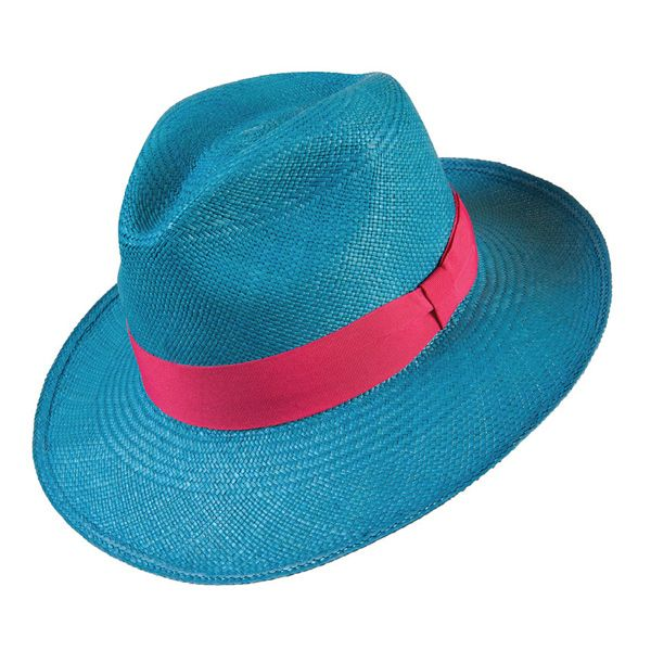 Handmade in Ecuador from toquilla straw, the feather-light and durable Cerulean Fedora from Prymal embraces ancient techniques and sustainable practices for a hat that has soul yet is colourfully contemporary.  www.prymal.com.ec
