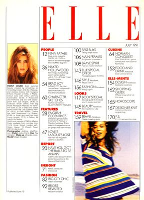 Fashion Magazine Content Page Google Search Magazine
