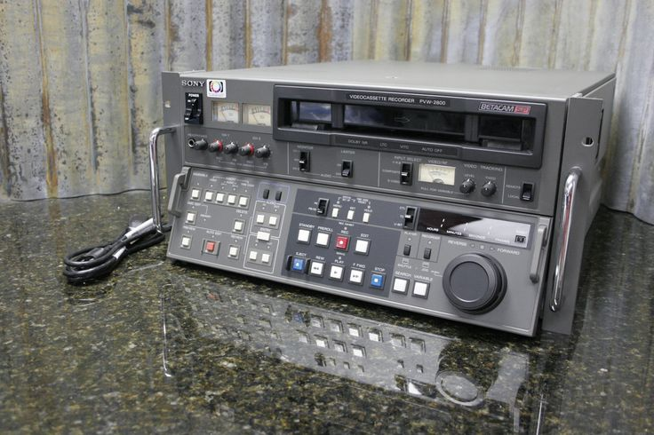 And here it is, the thing you were looking for. http://tincanindustries.com/products/sony-pvw-2800-betacam-sp-editing-video-record-deck-fully-tested-free-shipping If it is already sold, keep searching, there is plenty more to find.