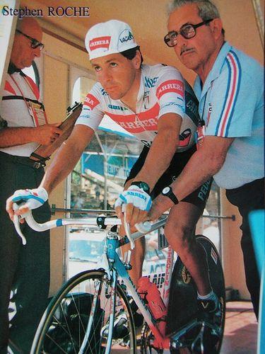 Stephen Roche - Carrera (1987)  Stage 10:- Individual Time Trial - Futuroscope.    Giro d'Italia (1987) - Stephen Roche  Tour de France (1987) - Stephen Roche  World Championships - Road (1987) - Stephen Roche