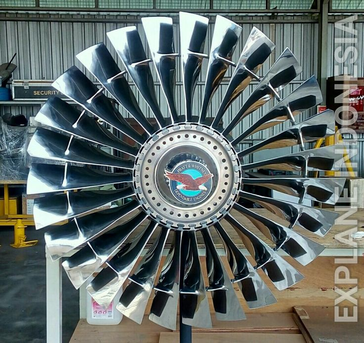 Fan Blade JT8D - B737 Explane Collection