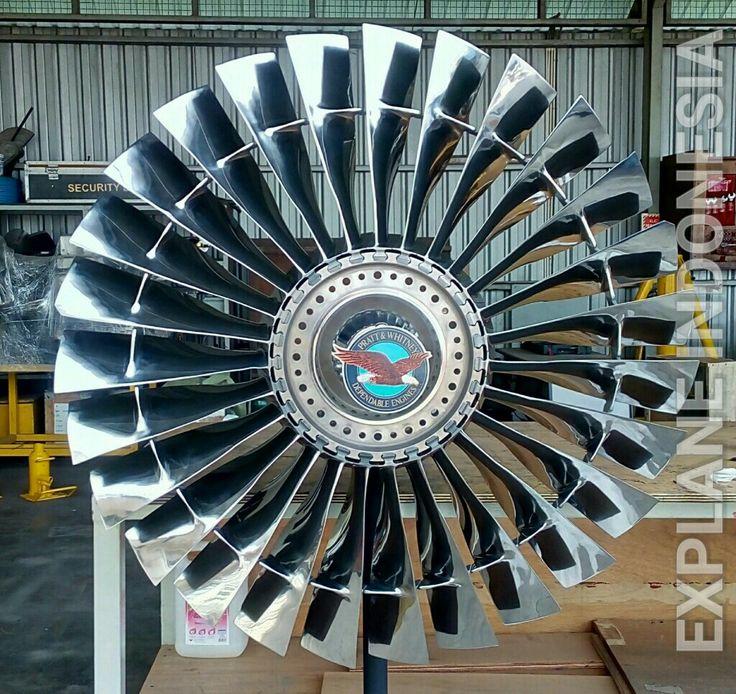 Fan Blade JT8D - B737 Explane Collection