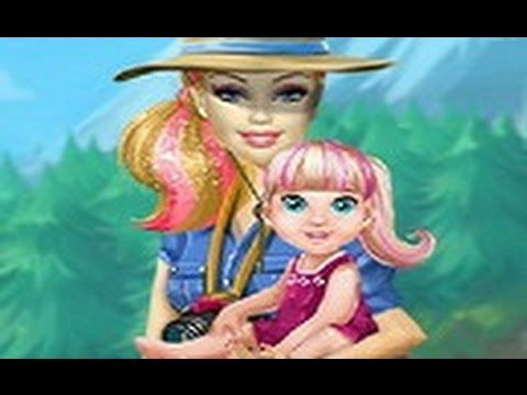 Barbie Family Going To Camping — GAMES FOR KIDS
