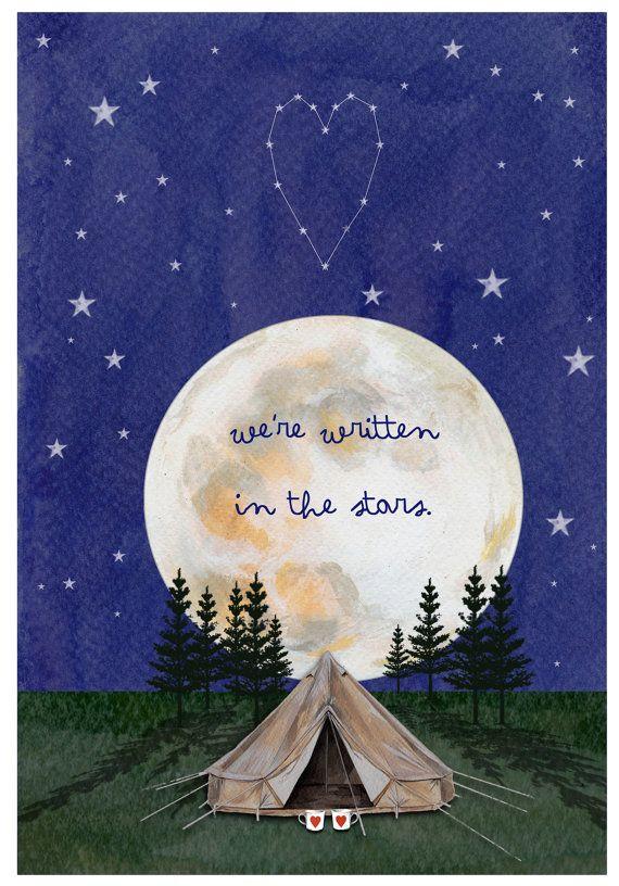 Valentine's Card - Constellation
