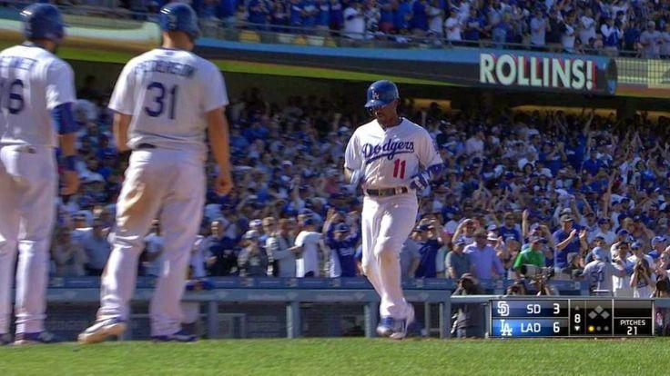 Las Gandes Ligas MLB: JIMMY ROLLINS DODGERS
