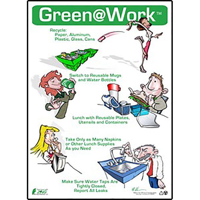 Conserve Energy Poster For Breakroom