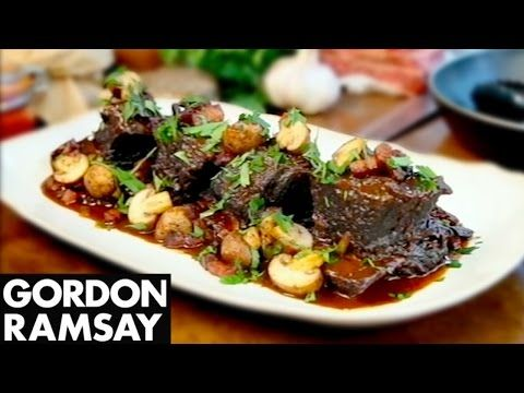 Slow Cooked Beef Short Ribs - Gordon Ramsay - YouTube