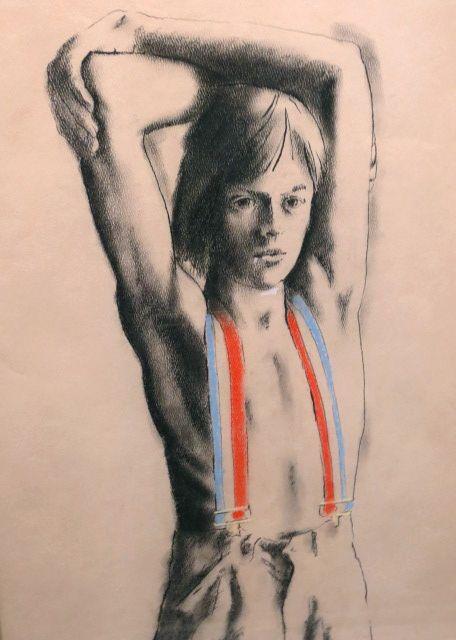 Portrait of Artist's Son - Circa 1972