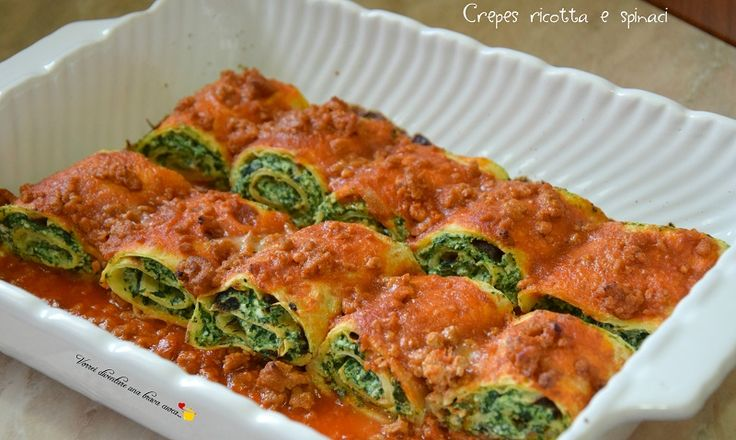 Crepes ricotta e spinaci (2)