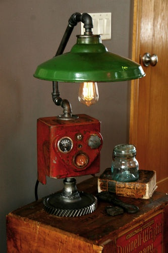 Farm Tractor Lamp : Best images about ih tractor farm bedroom decor bedding